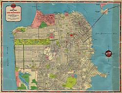 1938 san francisco street map » San Francisco History Podcast ...
